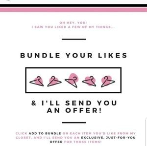 Other - Bundle your items and I'll send you an offer!!!!